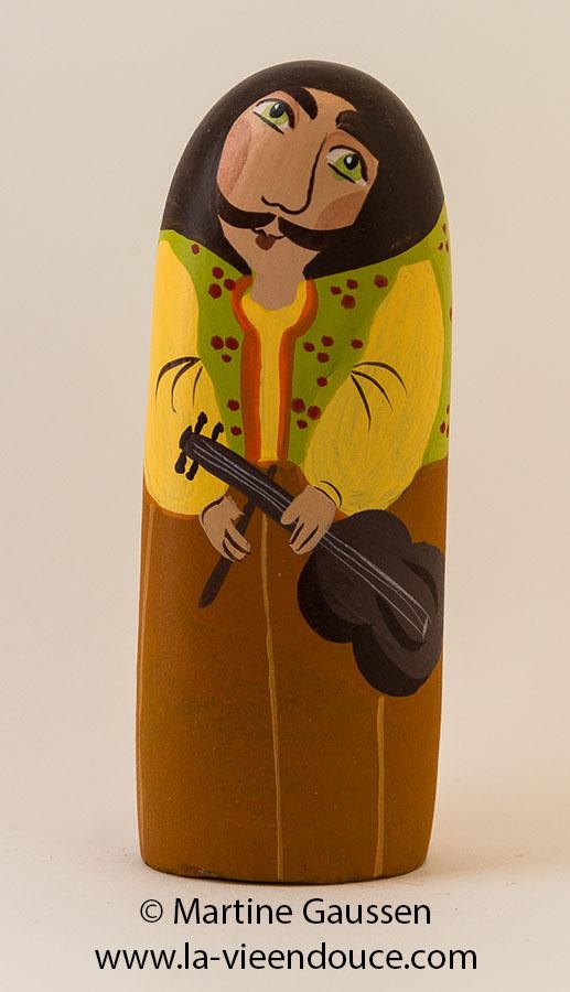 le santon le violoniste