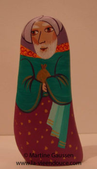 Le santon Melchior