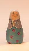Le santon La fermière au lapin