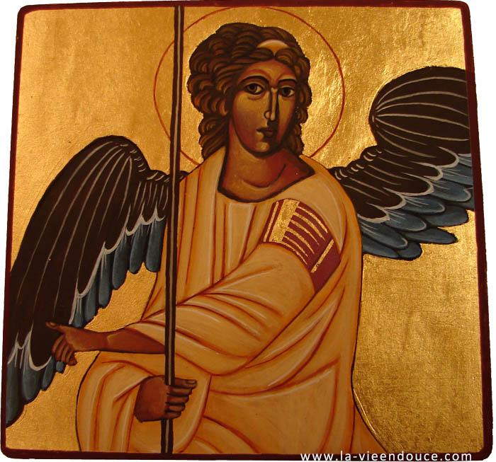Icone Religieuse icône ange de la résurrection - la vie en douce