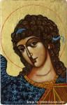 La peinture des icônes religieuses, comme celle-ci dans la catégorie des Anges, est axée autour d'une technique de peinture bien particulière