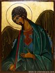 Ange-Raphaël-Vie-en-Douce-Icone-religieuse artisanale
