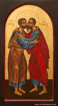 Icône apôtres Pierre et Paul
