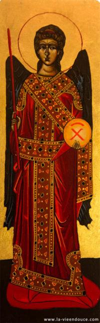 Icône ange Michel (en pied)