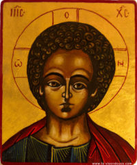 Icône Christ Emmanuel
