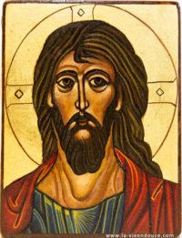 Icône visage du Christ
