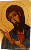 Icône prophète Jean Baptiste (buste)