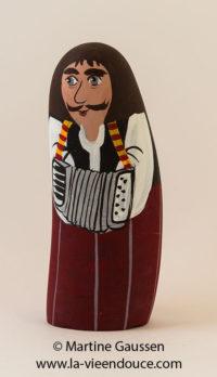 Le santon l'accordéoniste