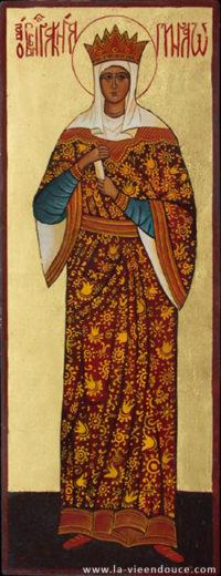 Icône sainte Olga