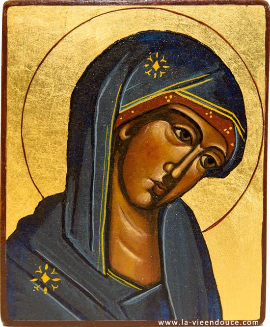 Icone Religieuse icône vierge du refuge - la vie en douce