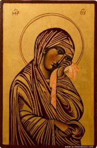 Icône Vierge de Cimabue