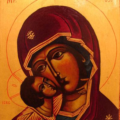 VIERGE-DE-VLADIMIR-TETE-la-vie-en-douce-icône-religieuse-Byzantine